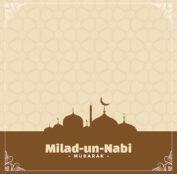 barawafat milad un nabi festival card design